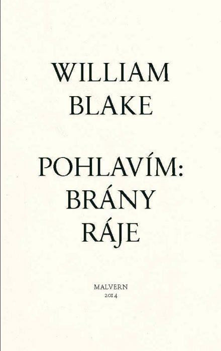 William Blake: Pohlavím: Brány ráje
