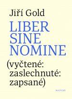 Jiří Gold: Liber sine nomine